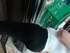 Thick latina and bbw ebony at supermarket