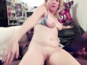 Cindysinx hot interracial bareback fucking
