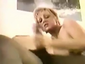 Mature Wife Takes BBC Cream Pie and Hubby Cleans Up