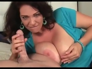 Super Sexy Busty Blowjob
