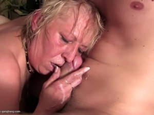 Kinky mature moms gangbanged by youngsters