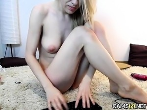 Hot Cam Slut Tight Pussy on Webcam