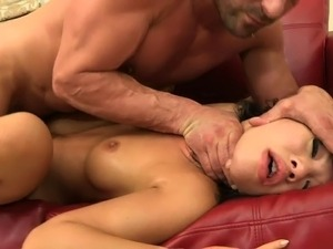 Beautiful Asian whores suck masked guy's hard tool