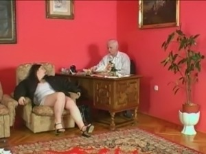 Plump Wife Fucking Grandpa by snahbrandy