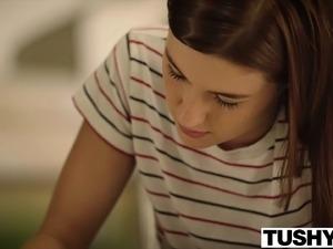 TUSHY First Anal For Alaina Dawson