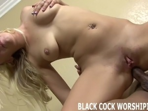 His big black cock is going to stretch my ass out