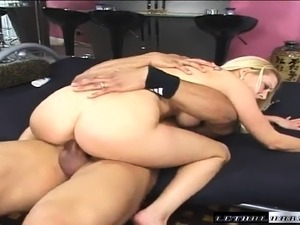 Erin Moore pleases Sledge Hammer's black dick like only she knows how