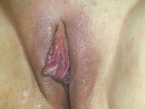 horny pussy wont stop oozing cream