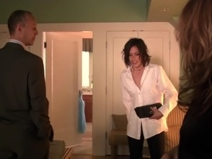 Katherine Moennig and Rosanna Arquette - The L Word