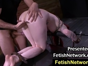 FetishNetwork.com presents Sheena Rose he managed to get me in his dungeon...
