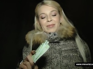 Sexy Czech Karol Craves Cock and Cash
