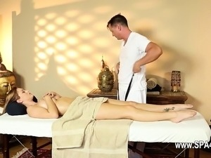 Secret masturbation and sexing in special tricky spa