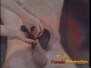 This slave has to take everything his two sexy mistresses have planned...