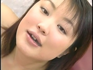 Two Japanese waitresses blow dudes and swap cum