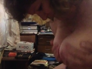 Cheating Wife Getting Titty-Fucked