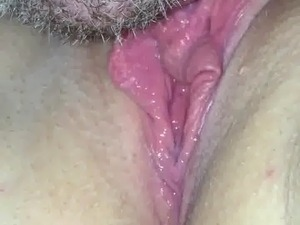 Licking a clit to orgasm