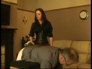 Spanked by his Mistress