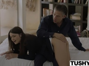 TUSHY College Student Gets Punished by Professor