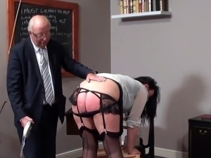 The Dean spanks