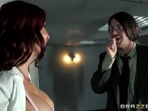 Brazzers - Monique Alexender loves big cock
