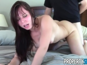 PropertySex - Young motivated real estate agent fucks client