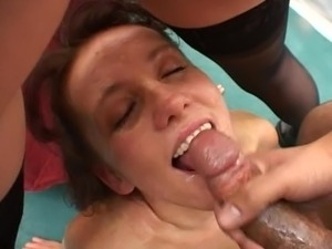 Fuck her, but then cum in my mouth