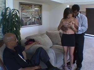 Husband Holds Wife's Hand While Taking BBC