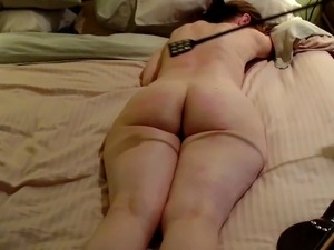 MILF rough spanking - Crying