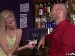 He asks barman fuck his wife please