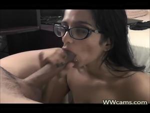 Indian Wife Sucking Husbands Dick
