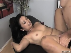 Sensuous Oriental lady Lucky Star fucks a hard dick every way she can
