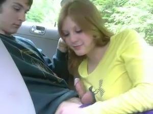 Kelly having Sex in a car