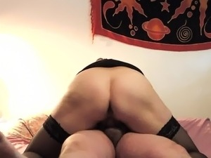 Fucking my BBW - back view