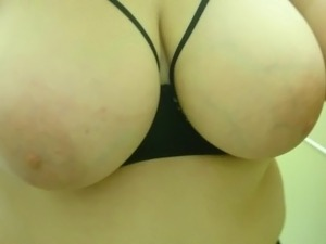 GF Teasing with tits