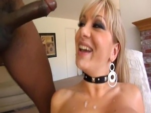 BLONDE LOVE BIG BLACK COCKS
