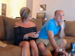 British couple on webcam