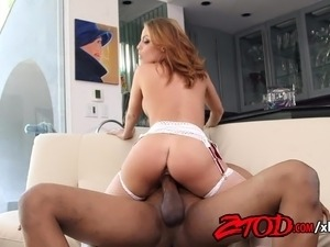 Britney Amber Rides A Big Black Cock Until Orgasm