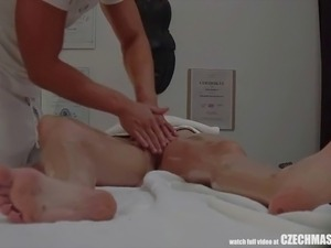 Passionate Sex On Massage Table