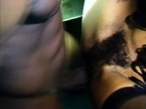 Horny black player gets to shove it up this hot doll's bunghole