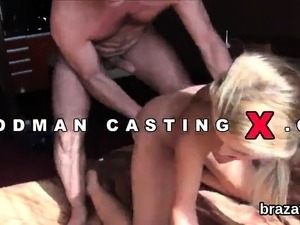 Casting peach leaves after hardcore penetration and ass hole